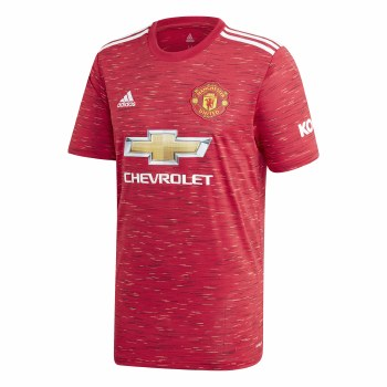 Adidas Man Utd Home Jersey 2020/21 Mens (Red) Medium