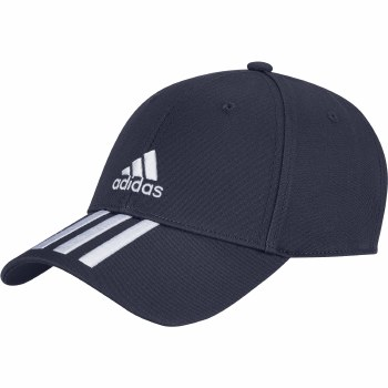 Adidas 3 Stripe Twill Cap (Navy White) Adult Mens