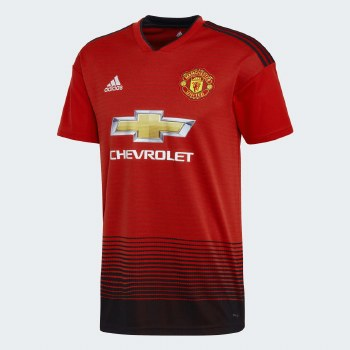 Adidas Man Utd Home Jersey 18/19 Adults Small
