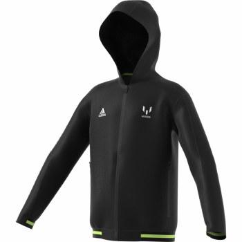 Adidas JB Messi Full Zip Hoodie 2019-2020 (Black Lime) 5-6