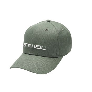 Animal Integral Cap Mens (Olive Green)