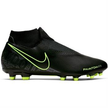 Nike Phantom Vision Academy Dynamic Fit MG (Black Volt Lime) 10