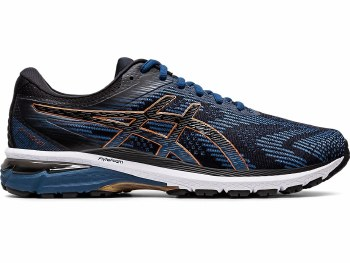 Asics GT-2000 8 Mens (Navy Black Bronze) 13