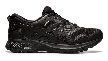 Asics Gel Sonoma GTX Ladies (Black Black) 8