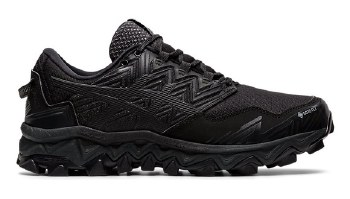 Asics Gel Fuji Trabuco 9 GTX Ladies (Black Black) 6.5