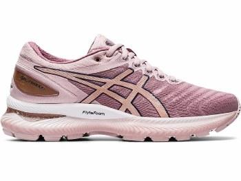 Asics Gel Nimbus 22 Ladies (Pink Rose Gold) 7.5