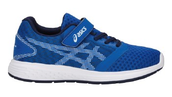 Asics Patriot 10 PS S19 Velcro (Blue White) 1