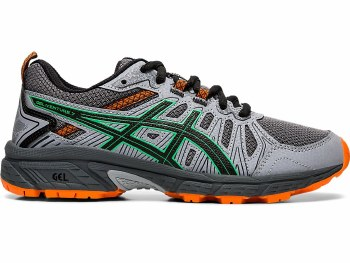 Asics Gel Venture 7 GS Kids (Grey Green Orange) 3