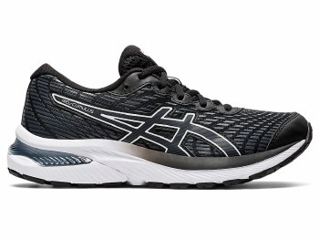 Asics Gel Cumulus 22 GS Kids (Black White) 3