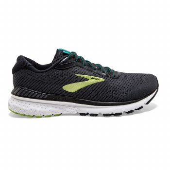 Brooks Adrenaline GTS 20 Mens (Black Green) 8