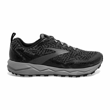 Brooks Divide Mens (Black Grey) 9