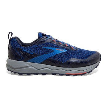 Brooks Divide 1 Mens (Blue Black Orange) 10