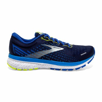 Brooks Ghost 13 Mens (Navy Blue Lime) 9
