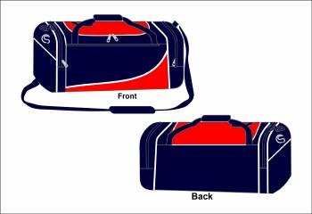 CS Team Holdall Medium (Navy Red White) Medium