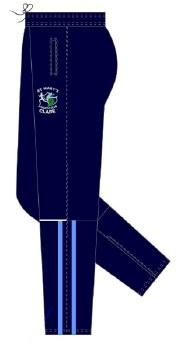 CS St Marys Athletic Club Skinny Pant (Navy Sky White) 9-10