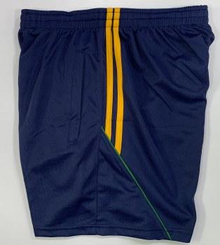 CS Club Training Zip Pocket Short (Navy Amber Green)