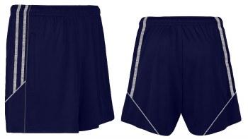 CS Club Training Zip Pocket Short (Navy Melange Grey) XL