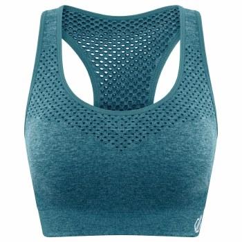 Dare2b Dont Sweat It Bra (Teal Green) XS