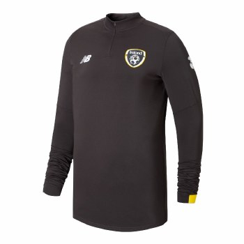 New Balanace FAI On Pitch Long Sleeve 1/2 Zip (Phantom Grey) Small