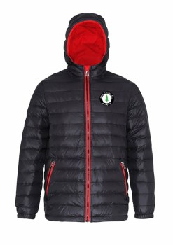 2786 Fern Celtic Padded Jacket (Black Red) XS