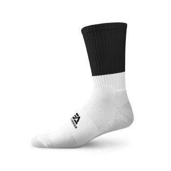 Gaelic Armour Elite Midi Sock (White Black) 6-8