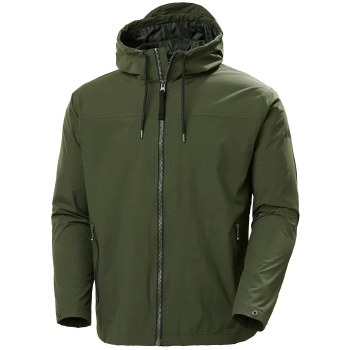 Helly Hansen Urban Rain Jacket (Forest Green) Medium