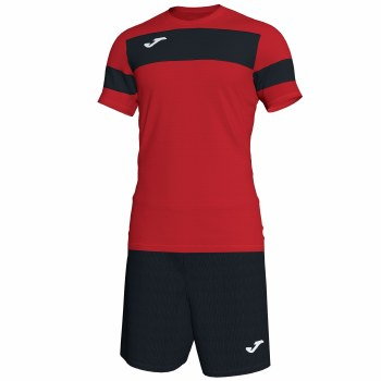 Joma Academy II Set (Black Red) Age 4-6