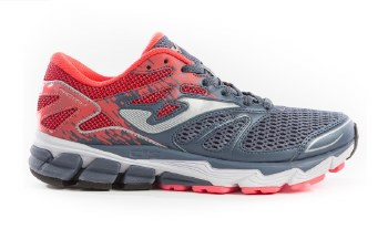 Joma Ladys Victory Running Shoe (Grey Coral) 5.5