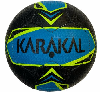 Karakal Street Ball (Black Blue Flo Yellow) Size 5