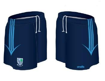 O'Neills Kildysart GAA Shorts (Navy Sky) Age 9-10