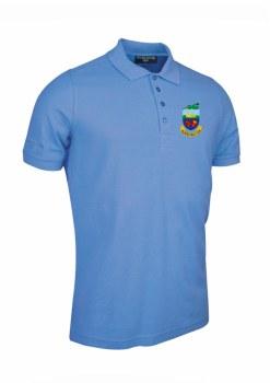 Glemmuir Kilrush Golf Club Mens Polo (Sky Blue) Medium