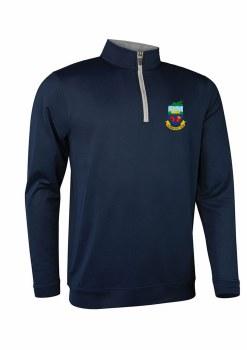 Glenmuir Kilrush Golf Club Mens Midlayer Half Zip (Navy Grey) XL