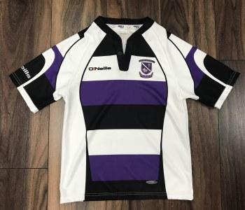 O'Neill Kilrush RFC Rugby Jersey (Black White Purple) 5-6