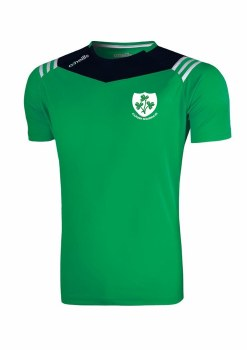 O'Neills Kilrush Shamrocks Colorado Tee (Green Navy White) 5-6