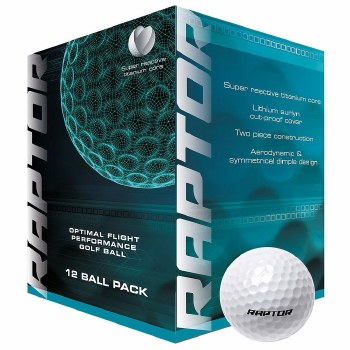 Master Rpator Golf Ball 12 Pack (White)