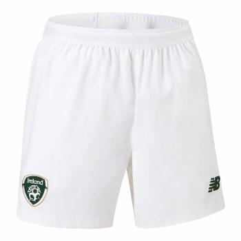 New Balance  Ireland FAI Away Shorts 2019-2020 (White Green) Small