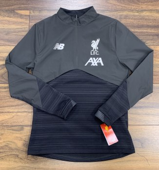 New Balance Liverpool 1/2 Zip Adults VS Top 2019/2020 (Dark Grey) Small