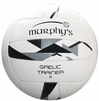 Murphys Gaelic Trainer (White Black Grey) Size 5