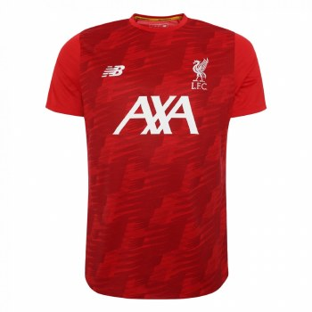 New Balance Liverpool Off Pitch Tee Kids 2019/2020 (Red) SB