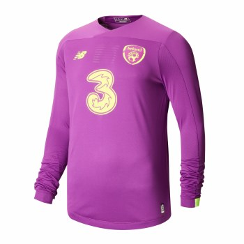 New Balance Ireland FAI Junior Home Goalkeeper LS Jersey 2019-2020 (Purple) SB