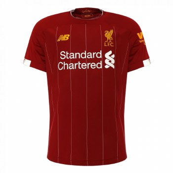 New Balance Liverpool Home Jersey Adults Short Sleeve 2019/2020 (Red) 2XL