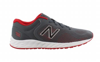 New Balance Arishi Fresh Foam Boys (Grey Red White) 4