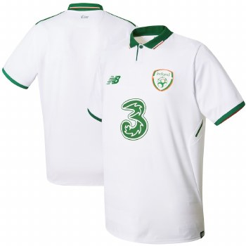 New Balance Ireland (FAI) Away Jersey 17/19 (White) Medium