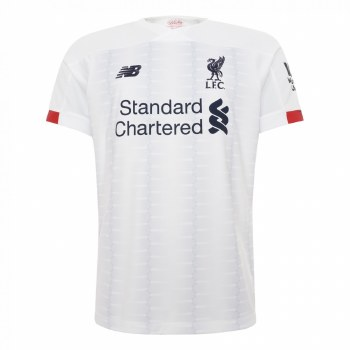 New Balance Liverpool Away Short Sleeve Kids Jersey 2019/2020 (White) SB