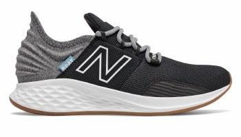New Balance Fresh Foam Roav Little Kids (Black Grey White) 2