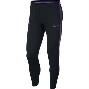 Nike Spurs Squad Training Skinny Pants Boys 2018/2019  (Black/Purple) XL Boys