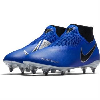 Nike Jr Phantom VSN Academy DF SG (Blue Silver) 1
