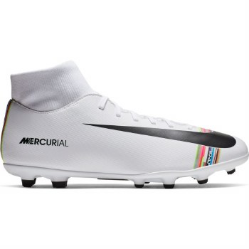 Nike Superfly 6 Club CR7 Firm Ground/MG (White Multi) 8