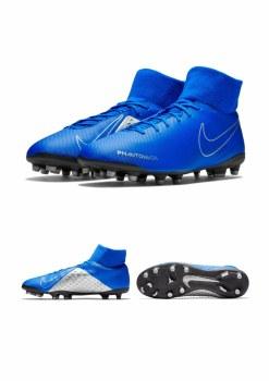Nike Phantom VSN Club DF FG/MG Adults (Blue/Silver) 9