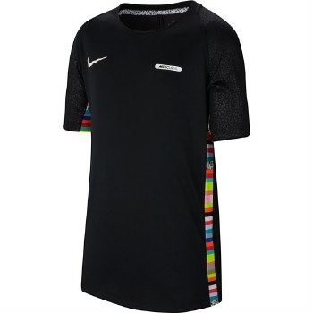 Nike CR7 Boys Dry Top (Black Multi) Small Boys